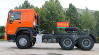 Professional Prime Mover Tractor، 371HP HOWO 6x4 Tractor Truck 10 Wheels LHD RHD